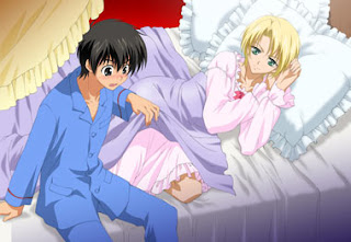 Yuuri Shibuya and Wolfram von Bielefeld from Kyo Kara Maoh or God Save Our King