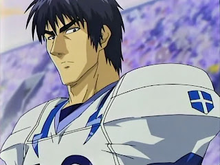 Seijuro Shin from Ojo White Knights team of Eyeshield 21 anime