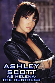 Ashley Scott as Helena - The Huntress in Birds of Prey TV Series