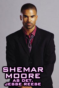 Shemar Moore as Detective Jesse Reese in Birds of Prey TV Series