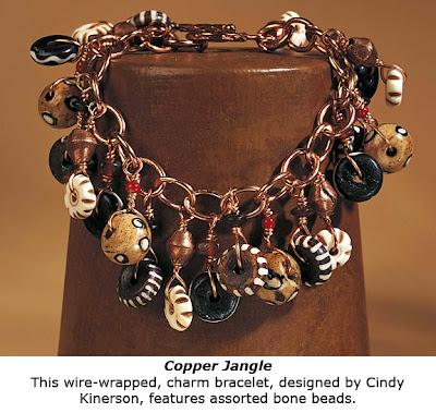 Beading With World Beads, project bracelet