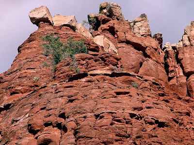 red rocks near Sedona, AZ, photo by Robin Atkins