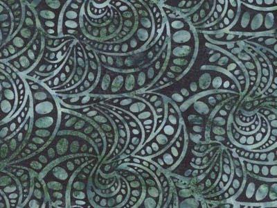 batik fabric, Hoffman, Teal G2220
