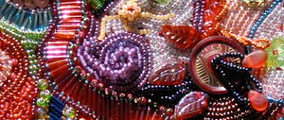 bead embroidery by Mary Tod