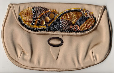 Beaded evening bag by Bobbi Pohl