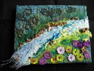 bead embroidery, BJP by Lise Pederson, April