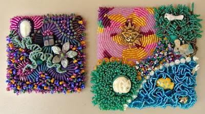 bead embroidery by Ann Severine