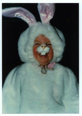 Margaret in bunny costume