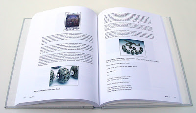my blog as a book, Beadlust by Robin Atkins, text pages