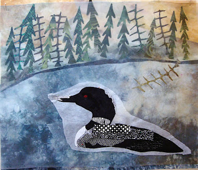 Karin Franzen workshop, loon by student