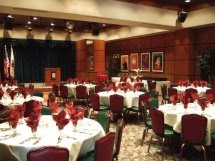Our elegant banquet room