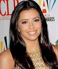 eva longoria hair color