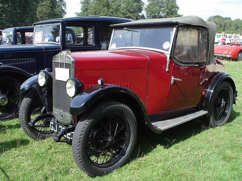 Classic Car: Triumph Car History (Triumph Super 7 & Super Seven Cars ...