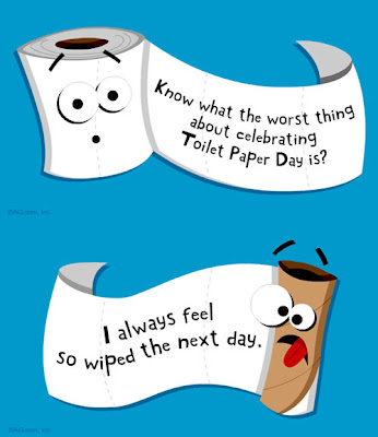 How to use Toilet Paper. Happy-toilet-paper-day