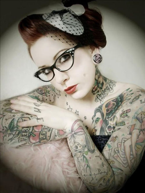 The best sexy girl design and ideas full body tattoo for Beautiful body tattoo