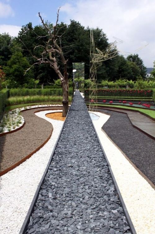 Dark Rift Designed By Oglo PPil Architects Modern Landscape And Garden Design