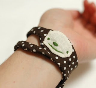 sloth cloth cuff