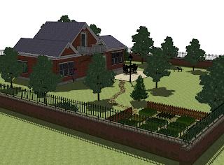 Mój projekt ogrodu i domu