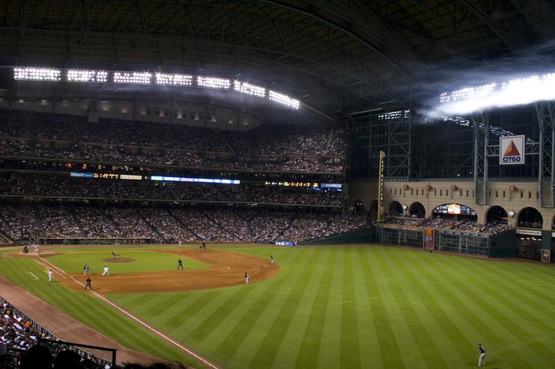 astros baseball field