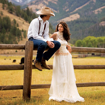 BRIDE CHIC WESTERN WEDDING CHIC