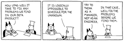 Dilbert, think like a manager