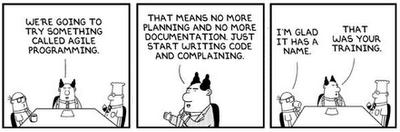 Dilbert - Agile Programming