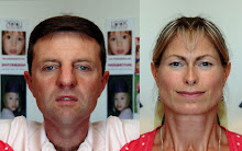 Kate & Gerry McCann:  Left Face Sides Combined