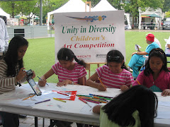 """UNITY IN DIVERSITY"" CHILDREN' ART competition. Sponsored by LEARNA HEARTLAND CENTRE"
