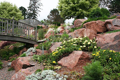 Bloomingwriter: Gardening in Nova Scotia: Rock-Garden Eye-Candy on japanese zen gardens, dry well construction, southwest gardens, zen buddhism gardens, small patio gardens, sand gardens, adachi gardens, dry bar furniture, dry garden design,