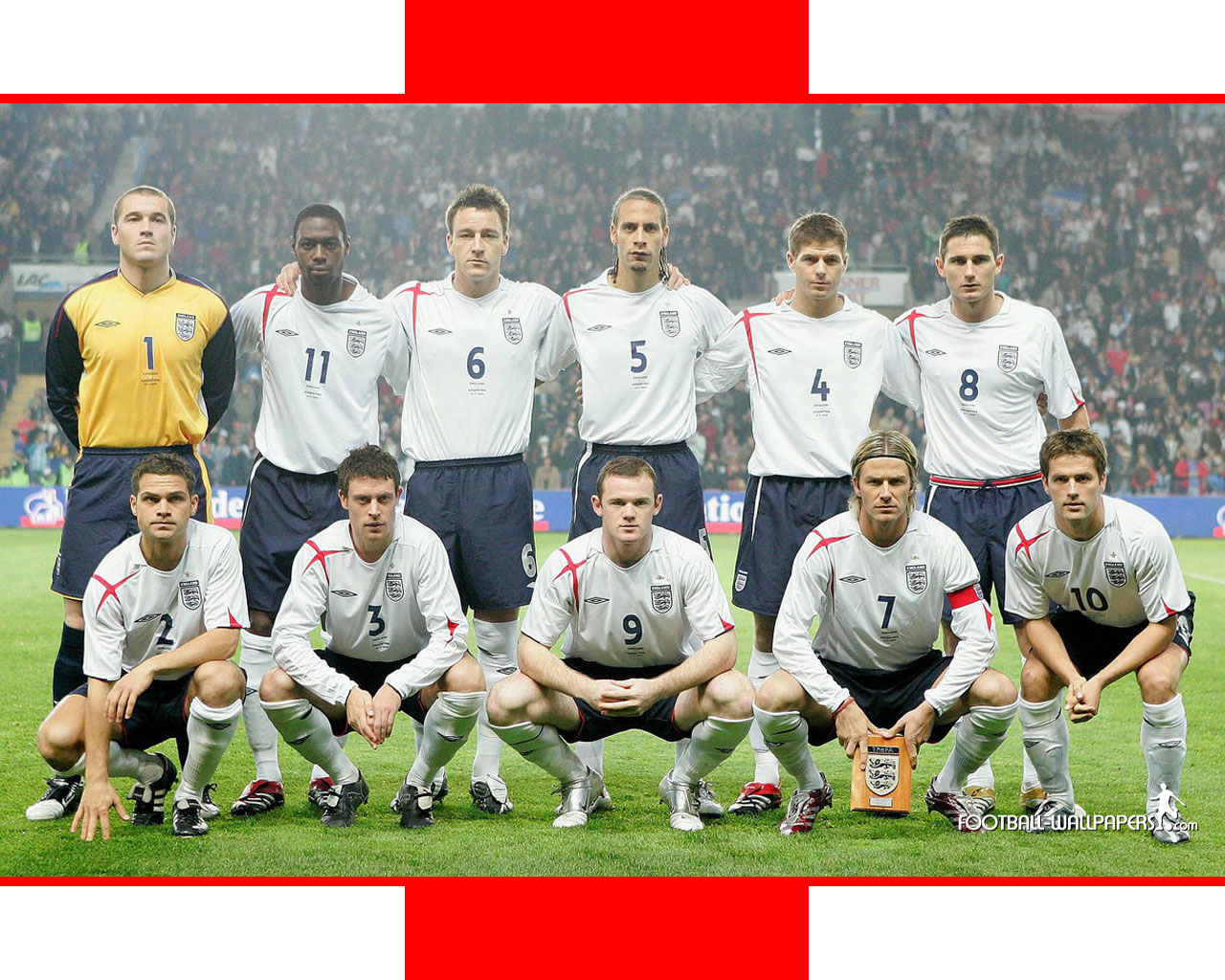 The World of Football : THE ENGLAND SQUAD-WORLD CUP 2010 FLOP
