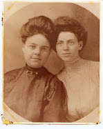 Minnie Florence Evans and sister