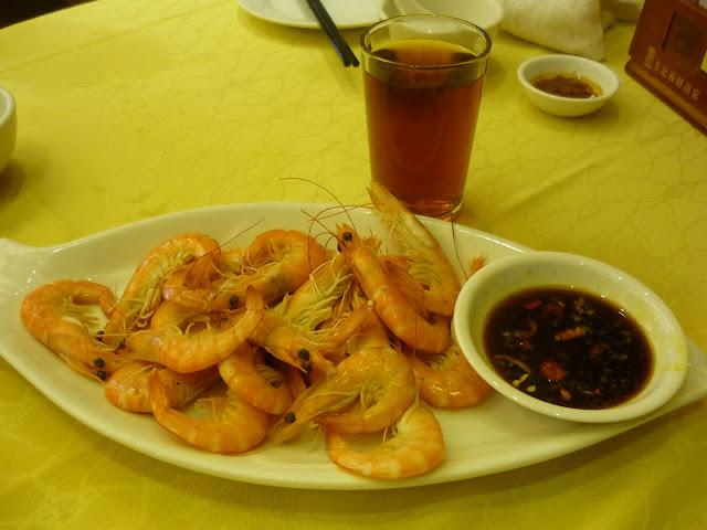 Sai Kung, Seafood, Boiled Prawns