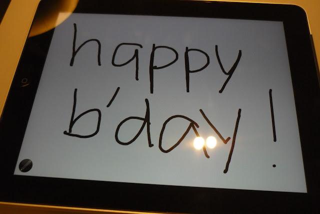 ipad Happy Birthday