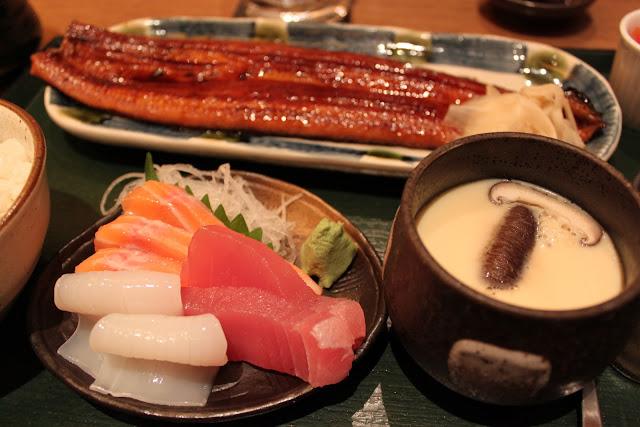 Japanese Unagi, Sashimi