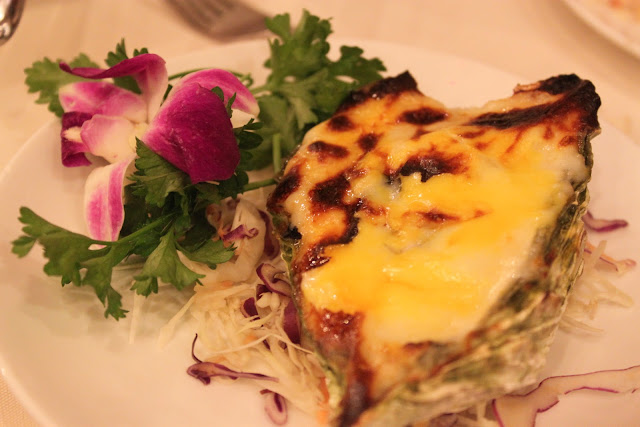 Cheese Baked Oyster