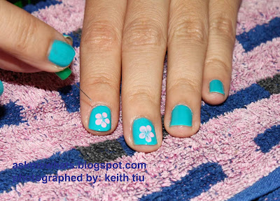Nail Art Tutorial: Hawaiian Nails
