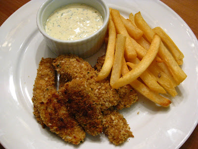 A taste of home cooking panko crusted fish sticks with for Dipping sauce for fish sticks