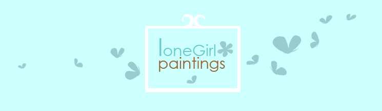 loneGirl paintings