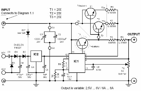 5V High Current Regulated Circuit