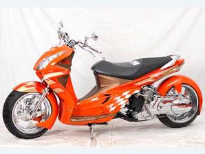 SUZUKI SKYWAVE LOWRIDER MODIFIED