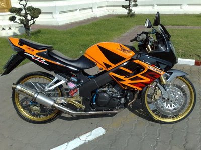 Honda CBR Modification
