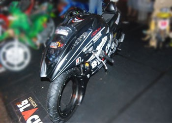 Jupiter MX 135 Futuristic Modification