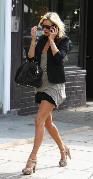 kate moss style blog. The Snakeskin-Paint Heels