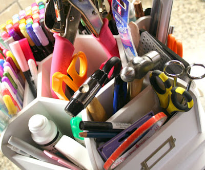 Making Memories Wood Desktop Organizer- White, Hobbies… – June T ...