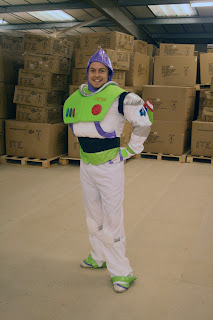 Our Model as Buzz Lightyear