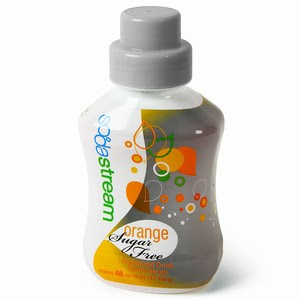 SodaStream Sugar Free Orange Mixer