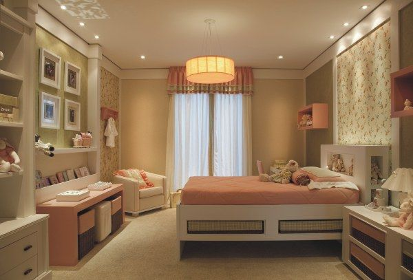 Decoração e artes quartos romanticos ~ Quarto Verde Limao E Rosa