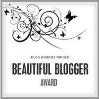 This is My Beautiful Blogger Award!