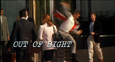 Out of sight, Un romance muy peligroso, George Clooney, Jennifer Lopez, Michael Keaton, Steven Soderbergh