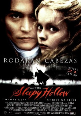 Sleepy Hollow, Tim Burton, Johnny Depp, Christina Ricci